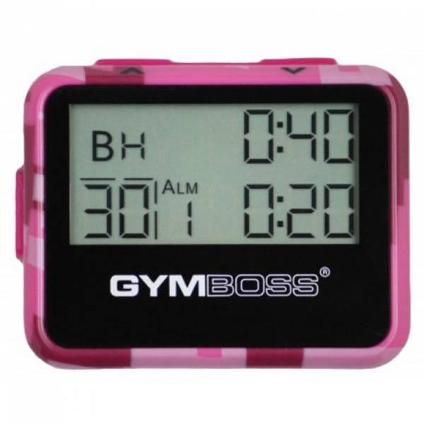 Gymboss® Intervallzeitgeber pink camo