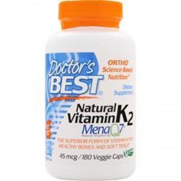 Vitamin K2 180 Kapseln, 45 mcg
