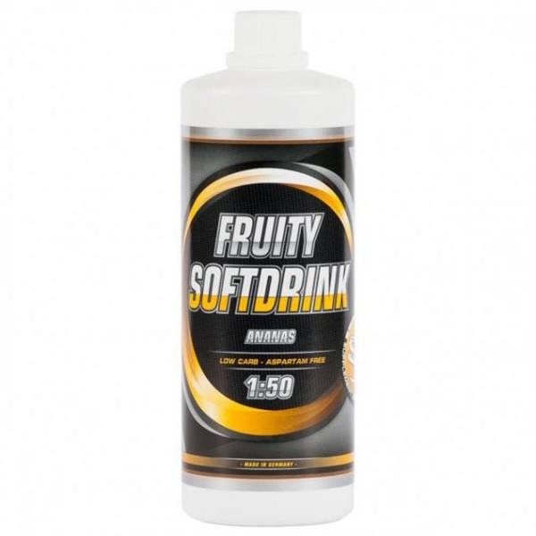 Vitaldrink fruity Softdrink, 1 Liter, 1:50