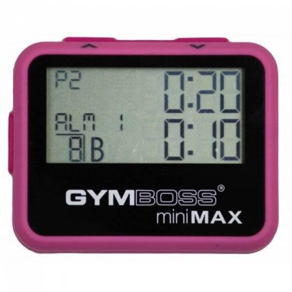 Gymboss® Minimax Intervallzeitgeber Pink